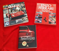 Three Interesting Rare Ferrari Abarth Books Tutto Ferrari Catawiki