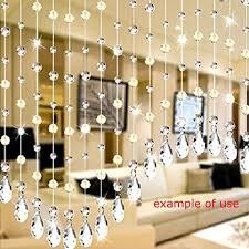 12 pc clear crystal teardrop chandelier prisms pendants hanging glass home decor