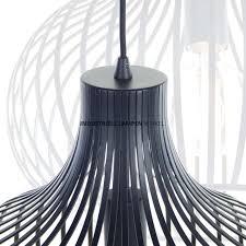 Zwarte Design Draadlamp Aglio ø 38 Cm