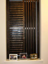 weekend projects create a wooden privacy screen for a window