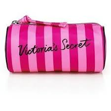 victoria s secret small cosmetic bag round 5 x 2 5 for small items