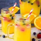 amazing punch  orange pineapple   great