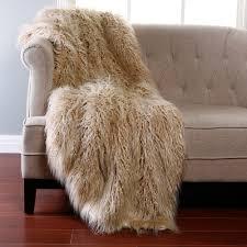 Faux Bearskin Rug Faux Mongolian Fur Rug Roselawnlutheran