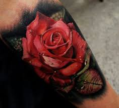 100 лучших идей тату роза на руке ноге и бедре с фото значение