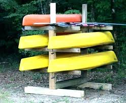 kayak storage rack ideas homemade outdoor canoe and wood plans kay kayak storage
