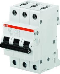 ABB <b>S203 Автоматический выключатель</b> 3P <b>32A</b> (D) 6kA ...