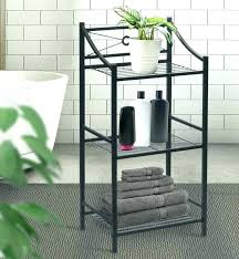 3 tier bathroom shelves stand shelf compact plastic shelving unit standards corner