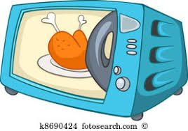 microwave clipart. cartoon home kitchen microwave clipart