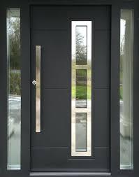 modern front door handlesFront Doors  Contemporary Solid Oak Front Door Front Door Design