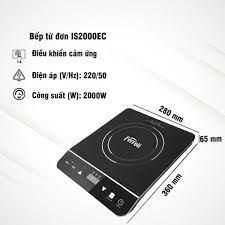 Bếp Từ Đơn Ferroli IS2000EC - Hàng chính hãng | Điện máy Huy Ngọc