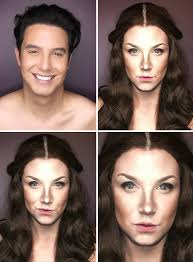 man bees woman game of thrones characters make male makeup