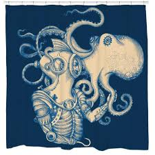 unique shower curtains. Deep Sea Discovery Shower Curtain Unique Curtains Q