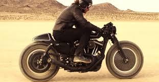 panasonic inspired custom roland sands harley sportster motorcycle