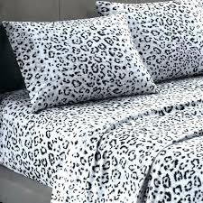 leopard print bedding sheets animal print bedroom sets girls kids bedding