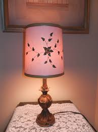 Clip On Light Bulb Shade Antique Barrel Clip On Lamp Shade With Reliefs Attached