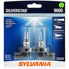 Motorcycle Light Bulb Cross Reference Chart Sylvania 9005 Silverstar High Performance Halogen Headlight Bulb High Beam Low Beam And Fog Replacement Bulb Brighter Downroad With Whiter