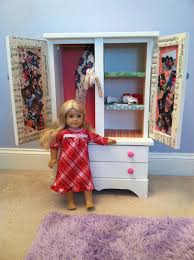 nice american girl armoire