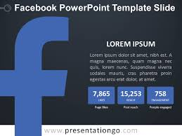Facebook Powerpoint Template Slide Presentationgo Com