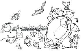 Pokemon Coloring Images Coloring Page Coloring Pages Trend Color