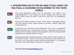 complete guide on writing an analytical essay on political economic  6 4 interesting facts for an analytical essay