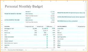 Monthly Expense Tracker Excel Daily Budget Spreadsheet Tracker Excel Template Expense