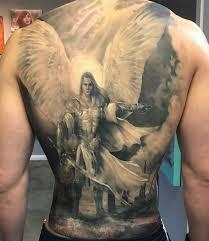 Archangel Michael Full Back Piece By Kristal Tarron идеи для