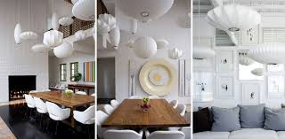 george nelson saucer pendant lamp george nelson bubble lamps in interior