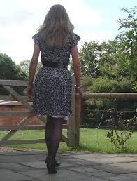 Silk dress and satin slip | Deborah Summers | Flickr