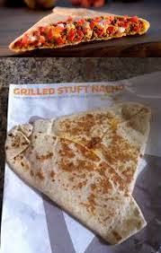 taco bell grilled stuffed nacho. Exellent Stuffed Taco Bellu0027s Grilled Stuffed Nacho I Donu0027t Know Why Expected Better  Sorry For Bad Photo Quality  For Bell Nacho R
