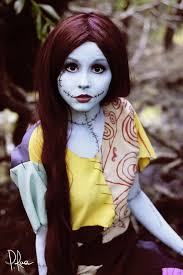 sally from nightmare before costume makeup idea