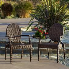 Christopher Knight Home Adriana PE Wicker Outdoor Chairs Set of 2 baf0d795 597d 4f01 b517 09a4c 600