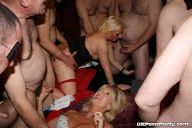 Amature gang bang party