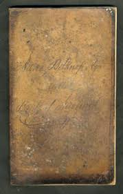 Check Ledger Book 1836 1839 Ledger Book Bank Of Newburgh Ny Of Aaron Belknap With