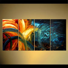 abstract painting original abstract home decor painting colorful