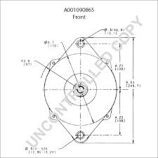 A001090865 front dim drawing