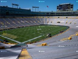 Lambeau Field Seating Chart Lambeau Field Section 131 Seat Views Seatgeek