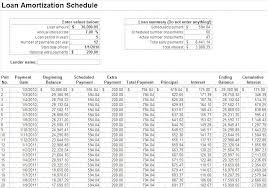 Make A Schedule On Excel Create Amortization Table In Excel How To