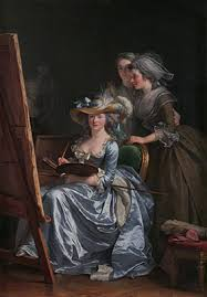 eighteenth century women painters in essay heilbrunn  self portrait two pupils mademoiselle marie gabrielle capet 1761 1818