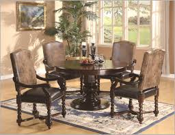 expandable round dining table for fabulous dining room chair sets for small spaces round dining table set for