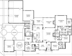French country Style House Plans   Plan   Main Floor Plan