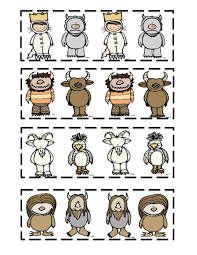 Preschool Printables Where The Wild Things
