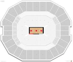 Yum Center Seating Chart Louisville Basketball Kfc Yum Center Louisville Seating Guide Rateyourseats Com