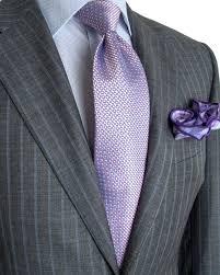 Light Grey Pinstripe Suit Combinations Image Of Canali Grey With Light Blue Stripe Suit Grey Suit