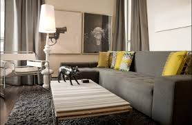 Grey Couch With Yellow Accents For The Home Pinterest Grey Gray Walls Yellow Accents