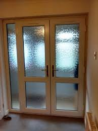 white french doors with mid rails with