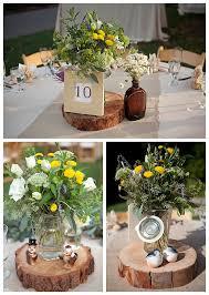 Outdoor Outdoor Wedding Centerpiece Ideas