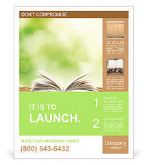 education poster templates open book on wood planks over abstract light background poster