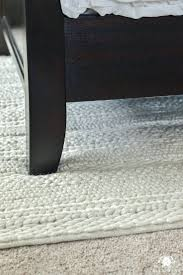chunky knit rug diy chunky braided wool rug uk why rugs should be layered on carpet