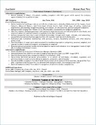 Event Planning Resume Igniteresumes Com