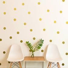 polka dots wall sticker nursery kids